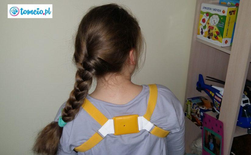 Pajączek dla dzieci na proste plecy